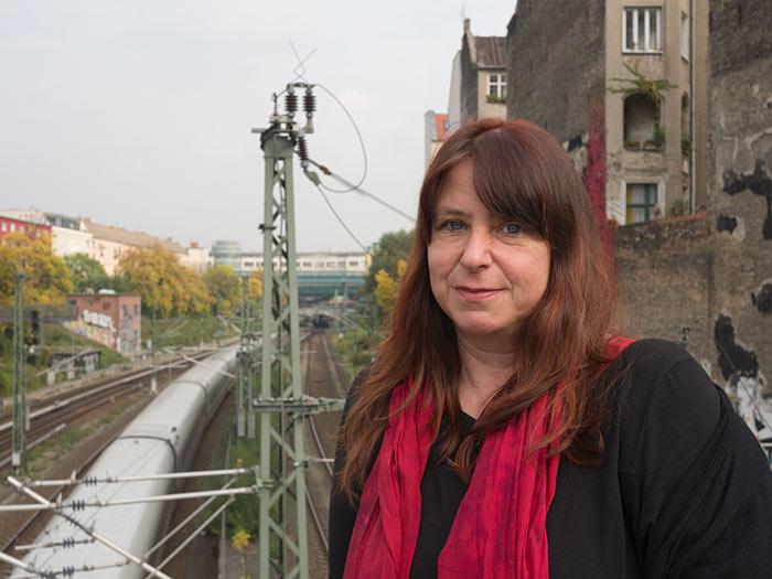 Annett Gröschner . © maria sewcz